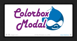 Colorbox modal
